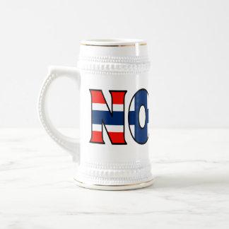 Chope À Bière La Norvège Stein
