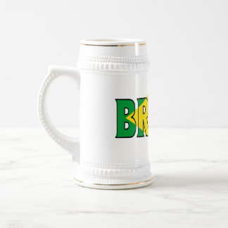 Chope À Bière Le Brésil Stein