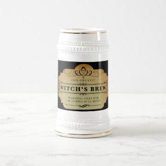 Chope À Bière Le Brew de la sorcière organique