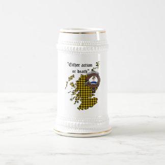Chope À Bière Le clan de Barclay Badge Stein