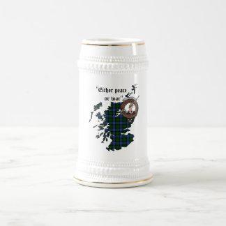 Chope À Bière Le clan de Gunn Badge Stein