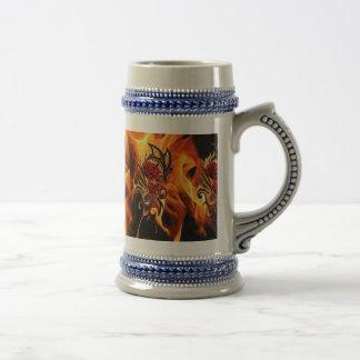 Chope À Bière le dragon d'or s'est levé