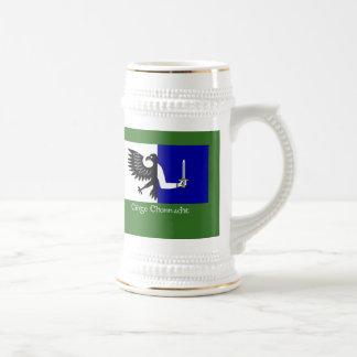 Chope À Bière Le drapeau de Connach