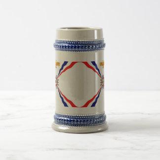 Chope À Bière Le magasin assyrien de Syriac de Chaldéen