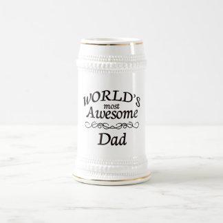 Chope À Bière Le papa le plus impressionnant du monde