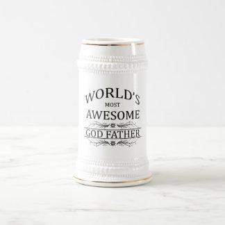 Chope À Bière Le père le plus impressionnant de Dieu du monde