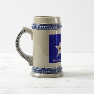 Chope À Bière Le Texas Longhorn le symbole de la bière Stein de