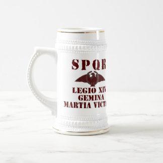 """Chope À Bière Légion romaine victorieuse Stein de """"Mars de Nero"""
