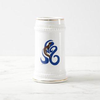 Chope À Bière Loutre Stein de natation