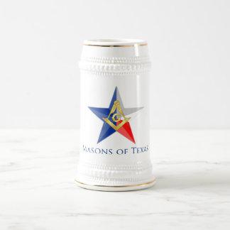 Chope À Bière Maçons du Texas Stein