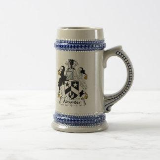 Chope À Bière Manteau d'Alexandre des bras Stein - crête de