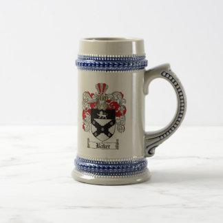 Chope À Bière Manteau de Baker des bras Stein/de la crête
