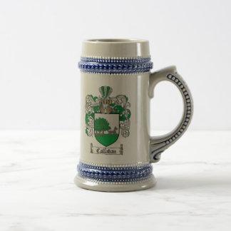 Chope À Bière Manteau de Callahan des bras Stein/de famille de