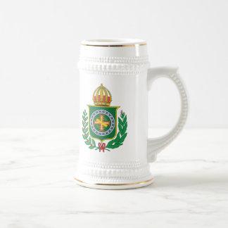 Chope À Bière Manteau d'empire du Brésil des bras