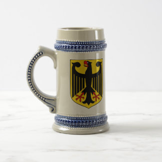 Chope À Bière Manteau des bras allemand Stein
