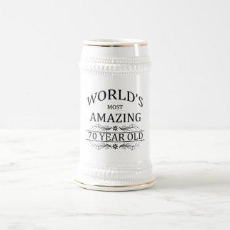 Chope À Bière Monde le plus stupéfiant 70 ans