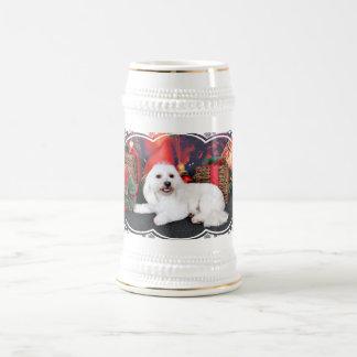 Chope À Bière Noël - Toby - race mélangée