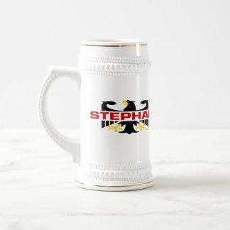 Chope À Bière Nom de famille de Stephan