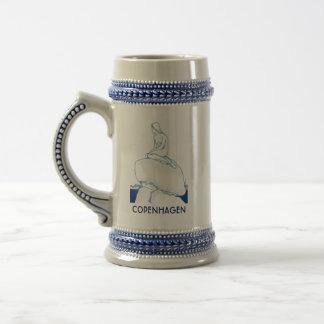 Chope À Bière Nostalgique chic élégant de croquis de Copenhague