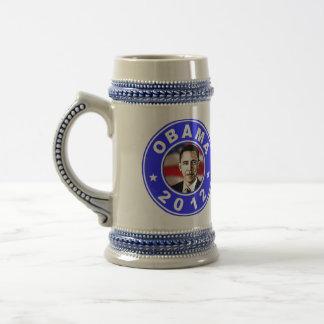 Chope À Bière Obama 2012 - Bleu