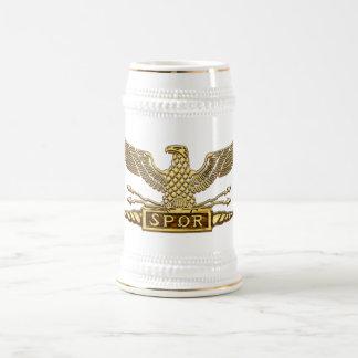 Chope À Bière Or d'Eagle de légion