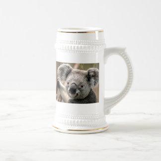 Chope À Bière Ours de koala en céramique Stein