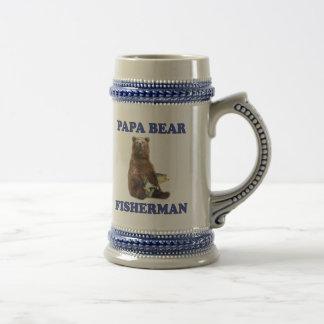 Chope À Bière Ours de papa de pêche