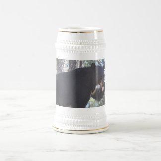 Chope À Bière Ours noir Stein