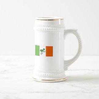 Chope À Bière Pain grillé irlandais/drapeau irlandais+Lutin