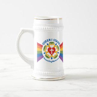 """Chope À Bière """"Pédé je tiens"""" le stein"""