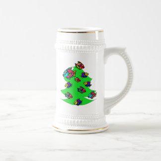 Chope À Bière poissons à l'arbre de Noël