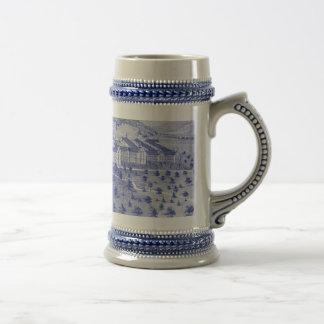 Chope À Bière Porcelaine Stein - customisé