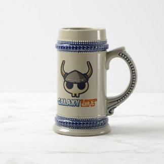 Chope À Bière Pot de Viking de la vie de galaxie !