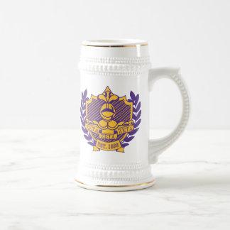 Chope À Bière Pourpre et or de Stein