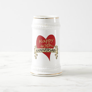 Chope À Bière quarantième. Anniversaire