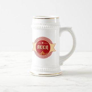 Chope À Bière Rétro logo Stein de bière