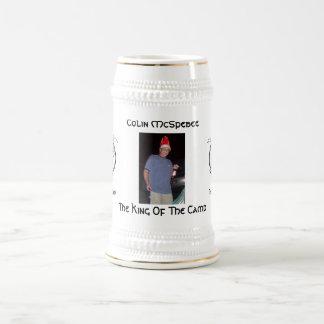 Chope À Bière Roi du camp Stein