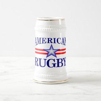 Chope À Bière Rugby américain (steins jbrugby de bière)