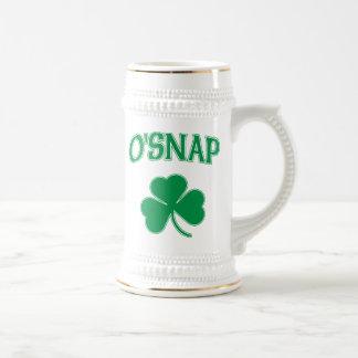 Chope À Bière Shamrock d'O'Snap