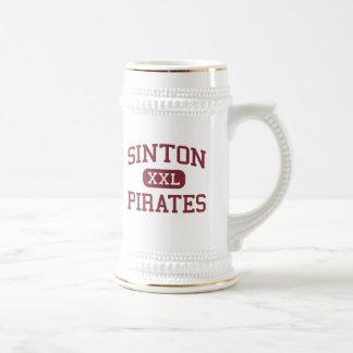 Chope À Bière Sinton - pirates - lycée - Sinton le Texas