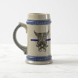 Chope À Bière Skal Viking - Blue Line mince