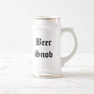Chope À Bière Snob de bière