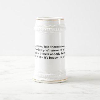 Chope À Bière Stein inspiré