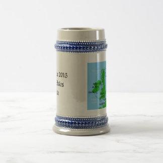 Chope À Bière Stein pour la croisière d'îles britanniques