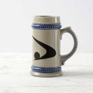 Chope À Bière Symbole d'Akita