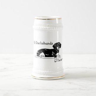 Chope À Bière Teckel Stein