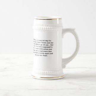 Chope À Bière Thèse élémentaire Stein non lié
