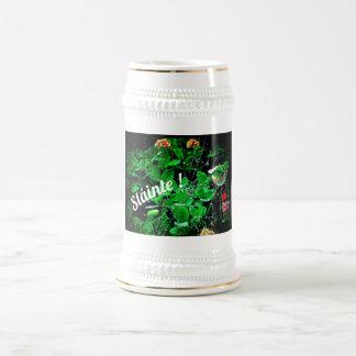 Chope À Bière Trèfle Stein de Sláinte