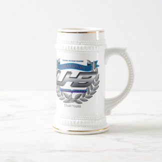 Chope À Bière Trophée d'hockey d'imaginaire