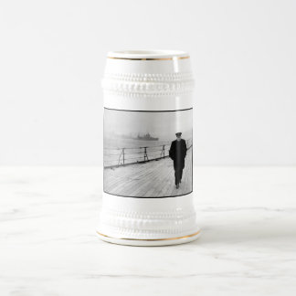 Chope À Bière Winston Churchill en mer